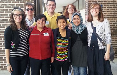 Peer Tutors Present at 2013 National Conference on Peer Tutoring in Writing