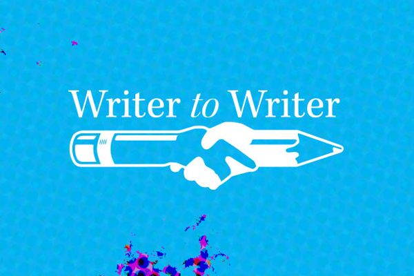 Writer to Writer Series & the Minor in Writing Marriage of the Minds Creates Writer to Writer Student-Run Journal